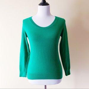 Banana Republic Long Sleeve Green Sweater Small P
